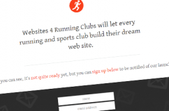 Websites 4 Running Clubs